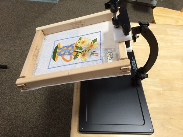 Needlework System 4 Ballistic Nylon bag Tote for Travel Mate floor stand