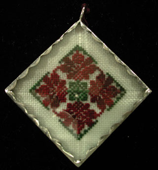 Pendant - Red & Green